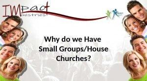 Johan Venter of Impact Ministries house church presentation